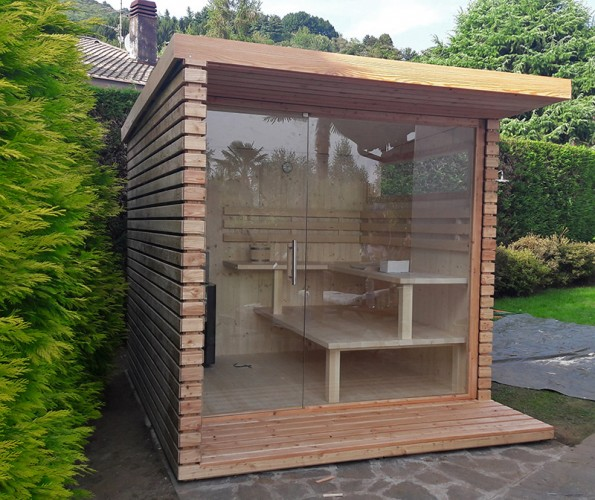 Saune botte e saune per esterno sauna viva alto adige - Sauna da esterno ...