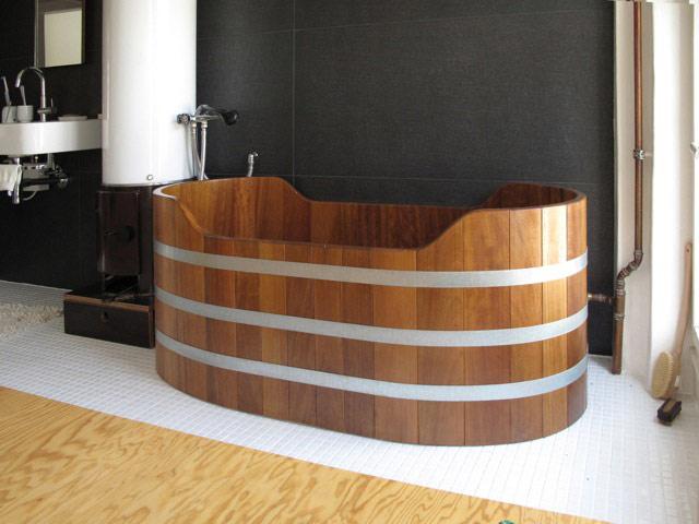 Vasca Da Bagno Esterna : Vasche da bagno in legno prezzi con vasca esterna in legno come